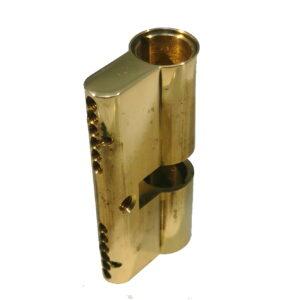 HS Cylinderhus 20 Messing +5