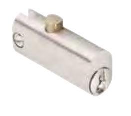 DOM Arkivskabslås 318-01-1 m/2 stk. nøgler