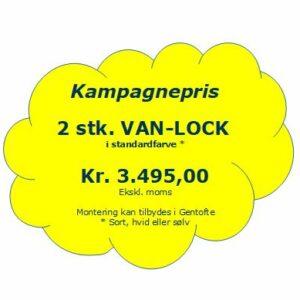 2 stk. Van-Lock i valgfri standardfarve (kampagnepris)